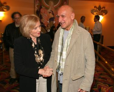 Eva Marie Saint and Ben Kingsley at the premiere of &quot;Don&#39;t Come Knocking&quot;.